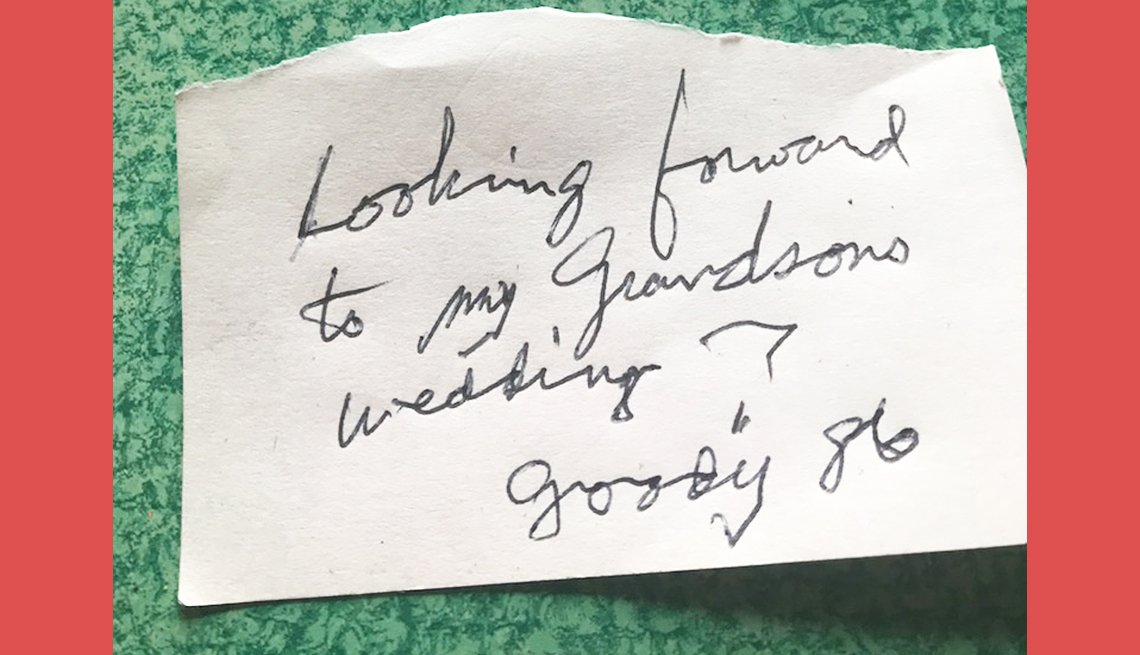 item 8 of Gallery image - goody age eighty six is looking forward to his grandsons wedding