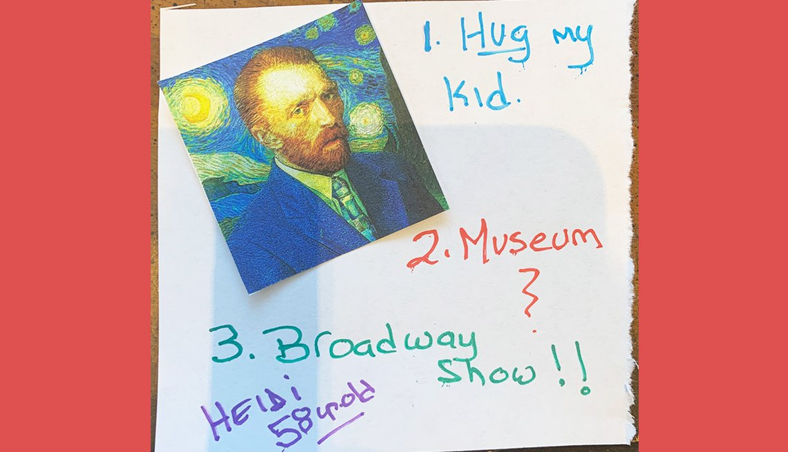 item 7 of Gallery image - heidi aged fifty eight would like to hug her kid and attend a broadway show and museum