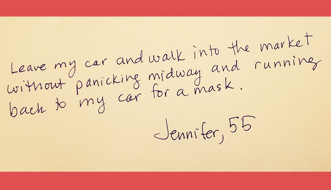 item 10 of Gallery image - jennifer age fifty five would like to stop constantly forgetting her mask