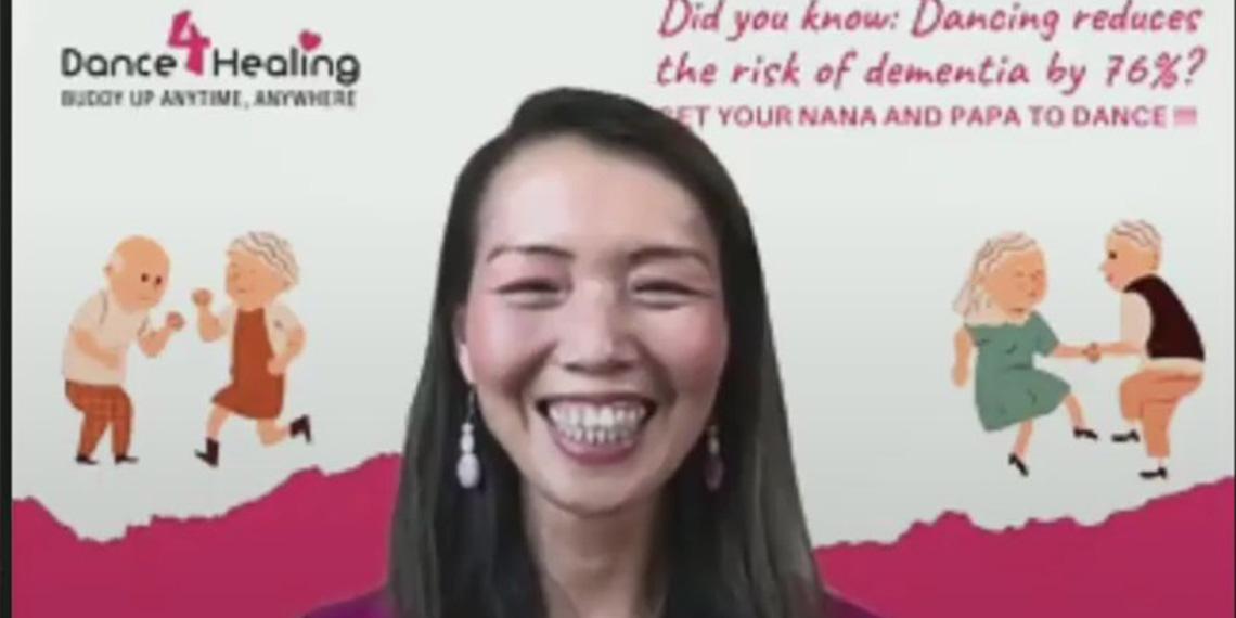 Amy Li, fundadora de la startup Dance4Healing de Sunnyvale, California