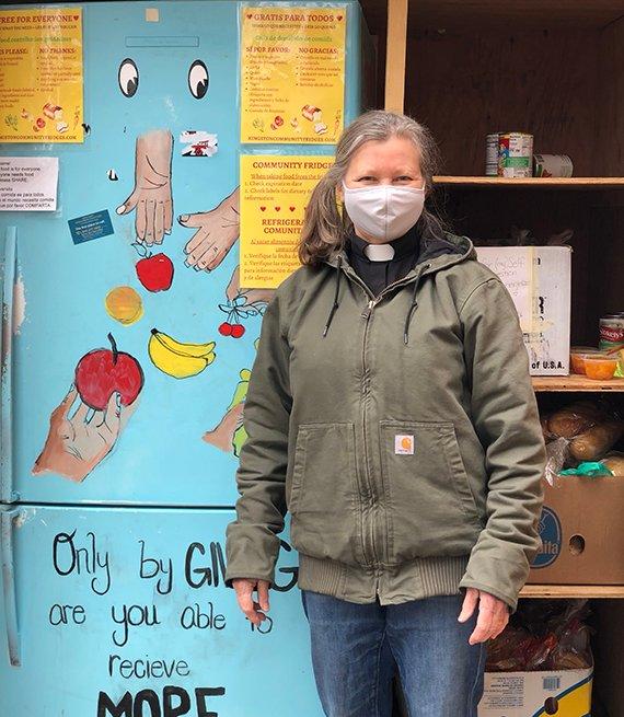 Joy McVane - full image - community fridge