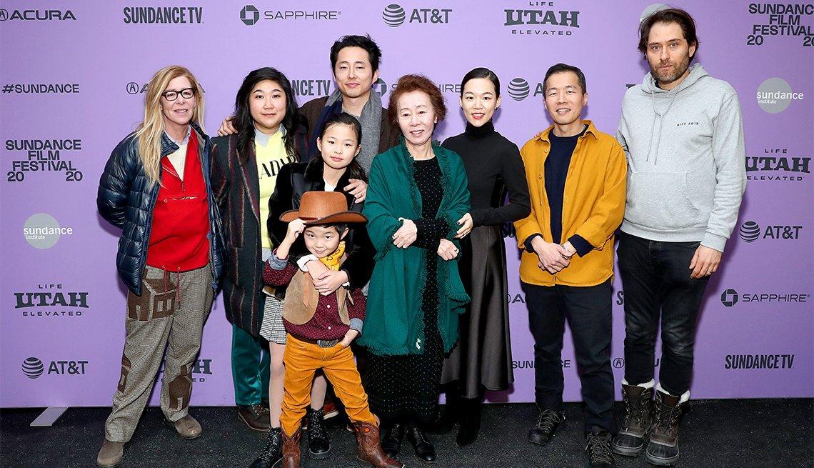 "The cast and crew of ""Minari"""