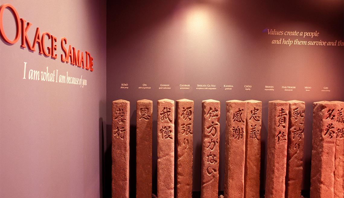 Exhibición dentro del Centro Cultural Japonés