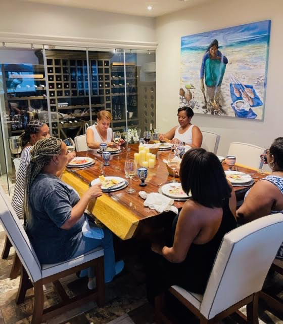 Randi B celebrates Juneteenth with friends and family