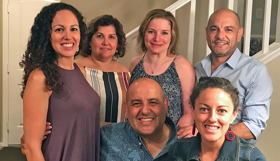 Kasi Mireles Taylor junto a su familia