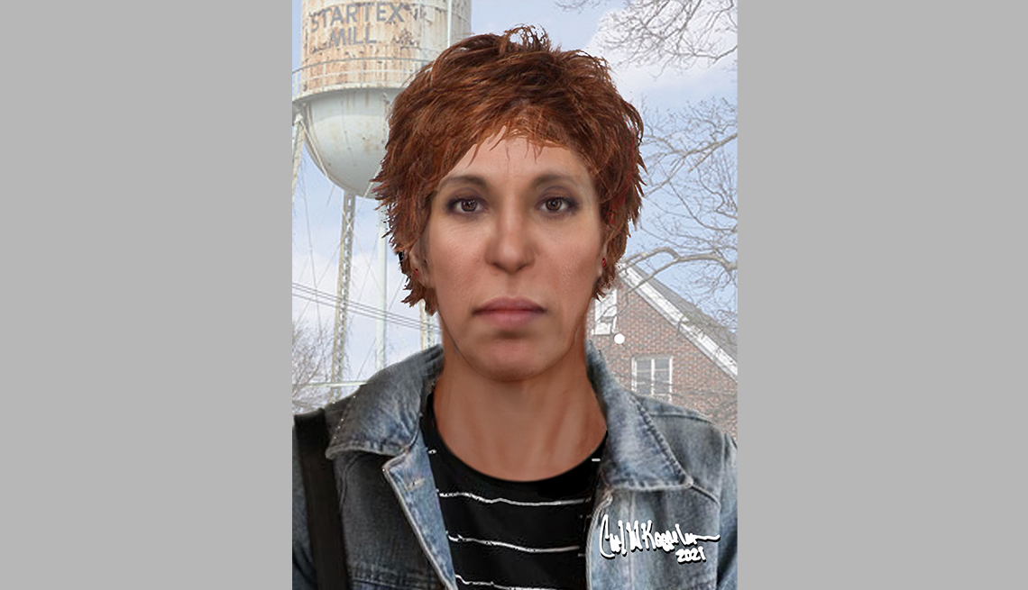item 19 of Gallery image - portrait rendering of cold case female found in spartanburg south carolina in two thousand eleven