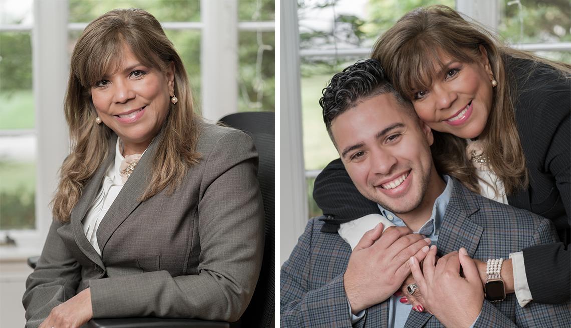 doctor gina miranda diaz with her son alexander