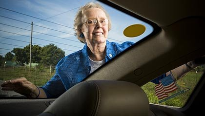 Joann Kirkham, is an enthusiastic supporter of Tennessees new statewide Yellow Dot program
