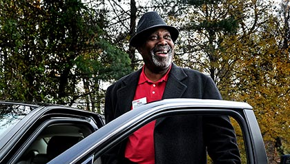 AARP Driver Safety coordinator Ted Peterkin poses for a portrait at Council House on November 15, 2012, in Suitland, Md.