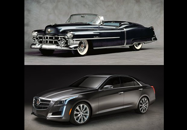 Cadillac, Boomer Cars Then and Now