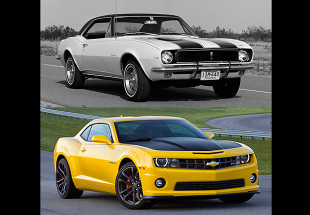 Chevrolet Camaro, Boomer Cars Then and Now