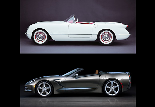 Corvette, Boomer Cars Then and Now