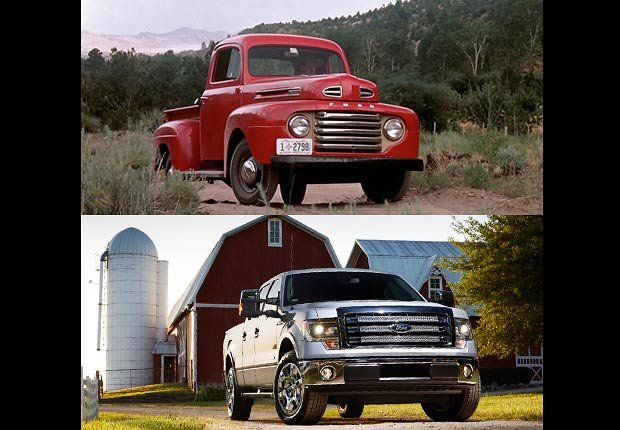 Ford F-Series Truck, Boomer Cars Then and Now