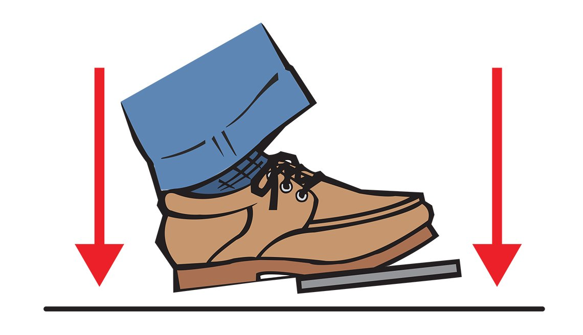 foot on brake pedal, Know how antilock brakes work, Driving Resource Center