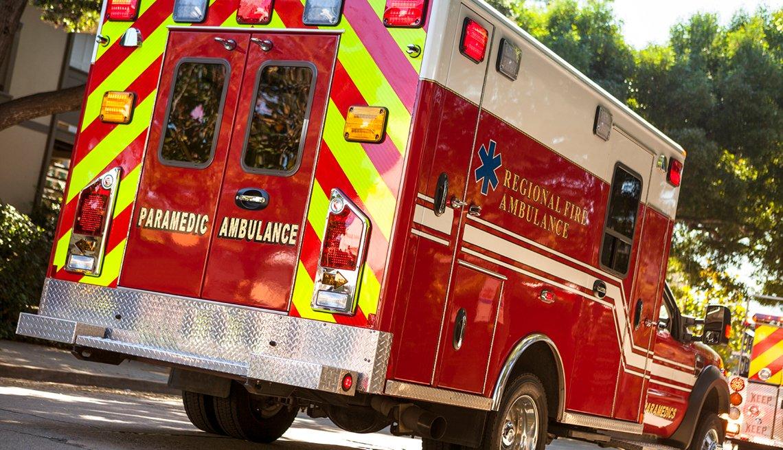 Ambulance, street, emergency, Driver Resource Center