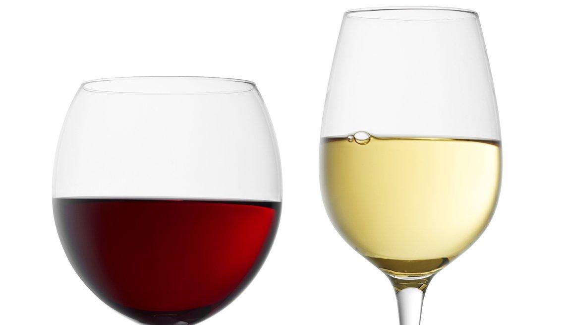 Red Wine, White Wine, Wine glasses, Driving Resource Center