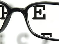 Glasses, eye test