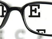 Glasses, eye test