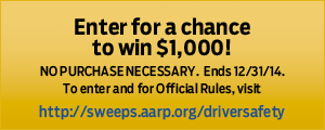 Button- Enter for a chance to win $1,000!