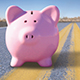 Piggy bank on the road - AARP Driver Safety