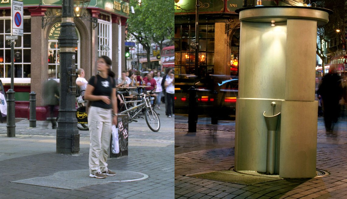 Charing Cross Road urinal