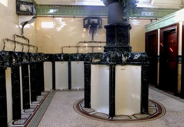 The Victorian Urinals of Rothesay in the Isle of Bute, Scotland- toilets around the world