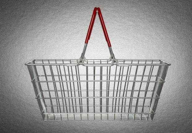 Cesta de alambre, 10 objetos útiles y asequibles para su hogar