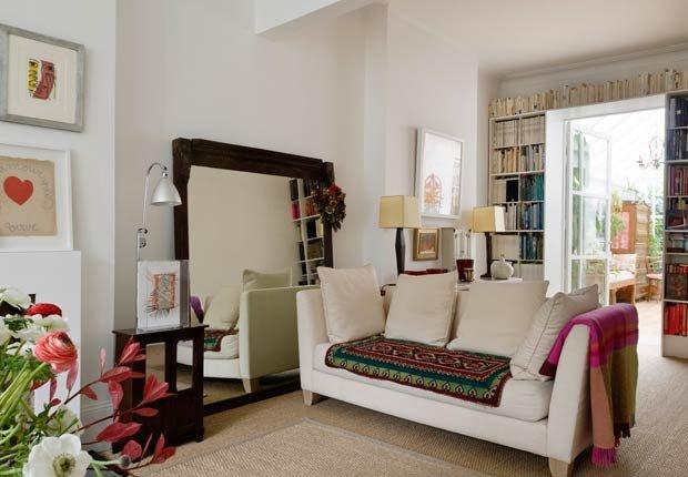 Espejos grandes - Decorar espacios pequeños con familias grandes