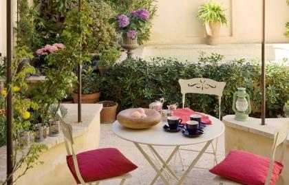 Un jardín exterior - 4 Fácil Ideas de decoración al aire libre