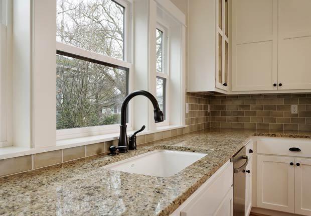 Granito en la cocina - 10 mejoras ideales para el 2014