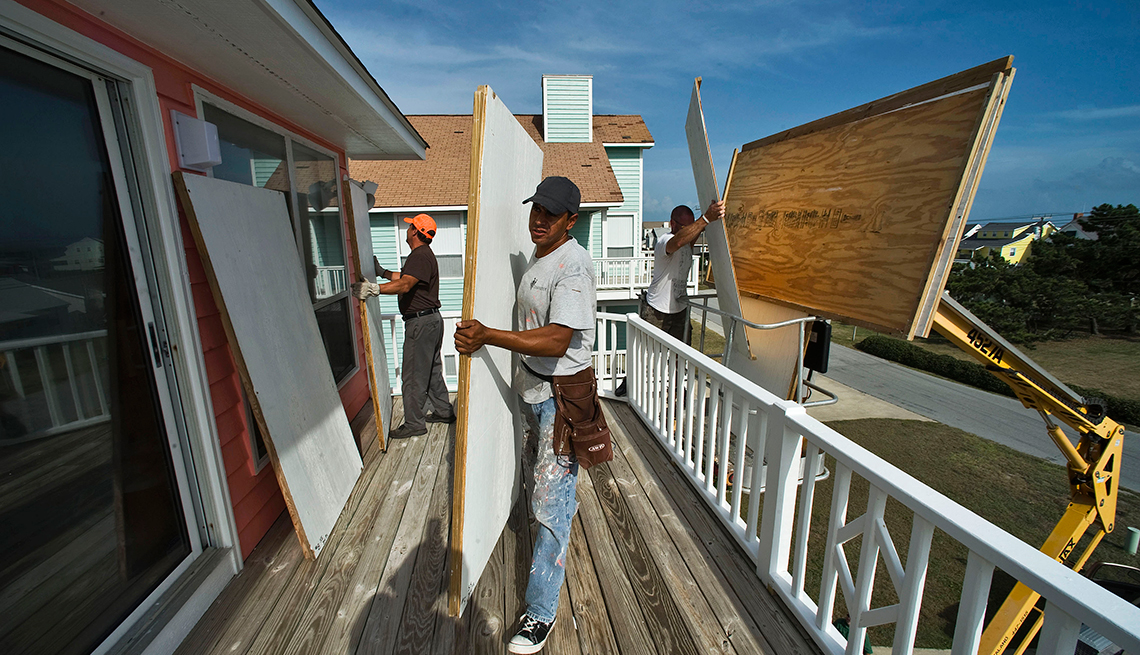 Cómo preparar tu casa ante un huracán