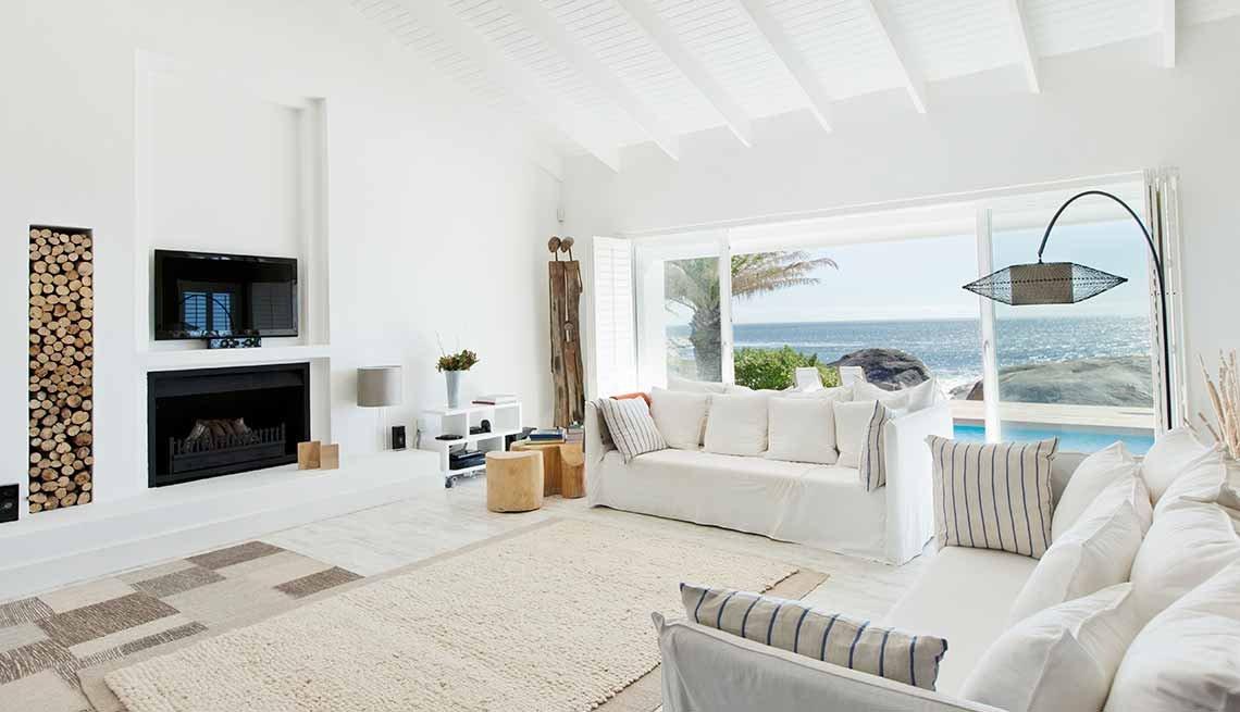 Claves para reflejar el estilo minimalista en tu hogar for Casa minimalista living