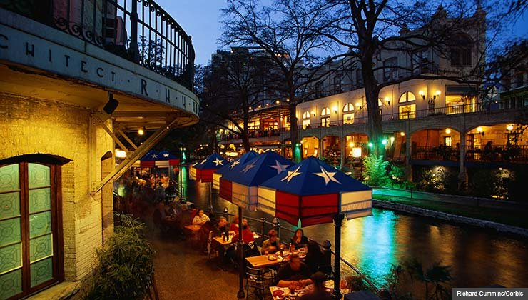 Best Places to Retire for $100 a Day- San Antonio, Texas