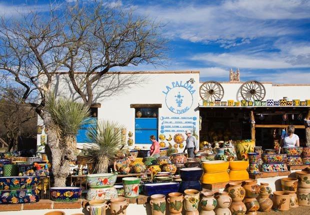 Tubac, Arizona. 10 ciudades estadounidenses ricas en cultura hispana.