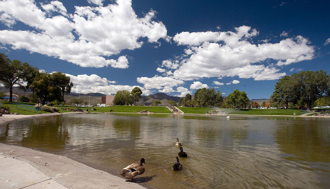 Vecindarios en donde vivir mejor en Estados Unidos - Ashley Pond - Los Alamos, New Mexico