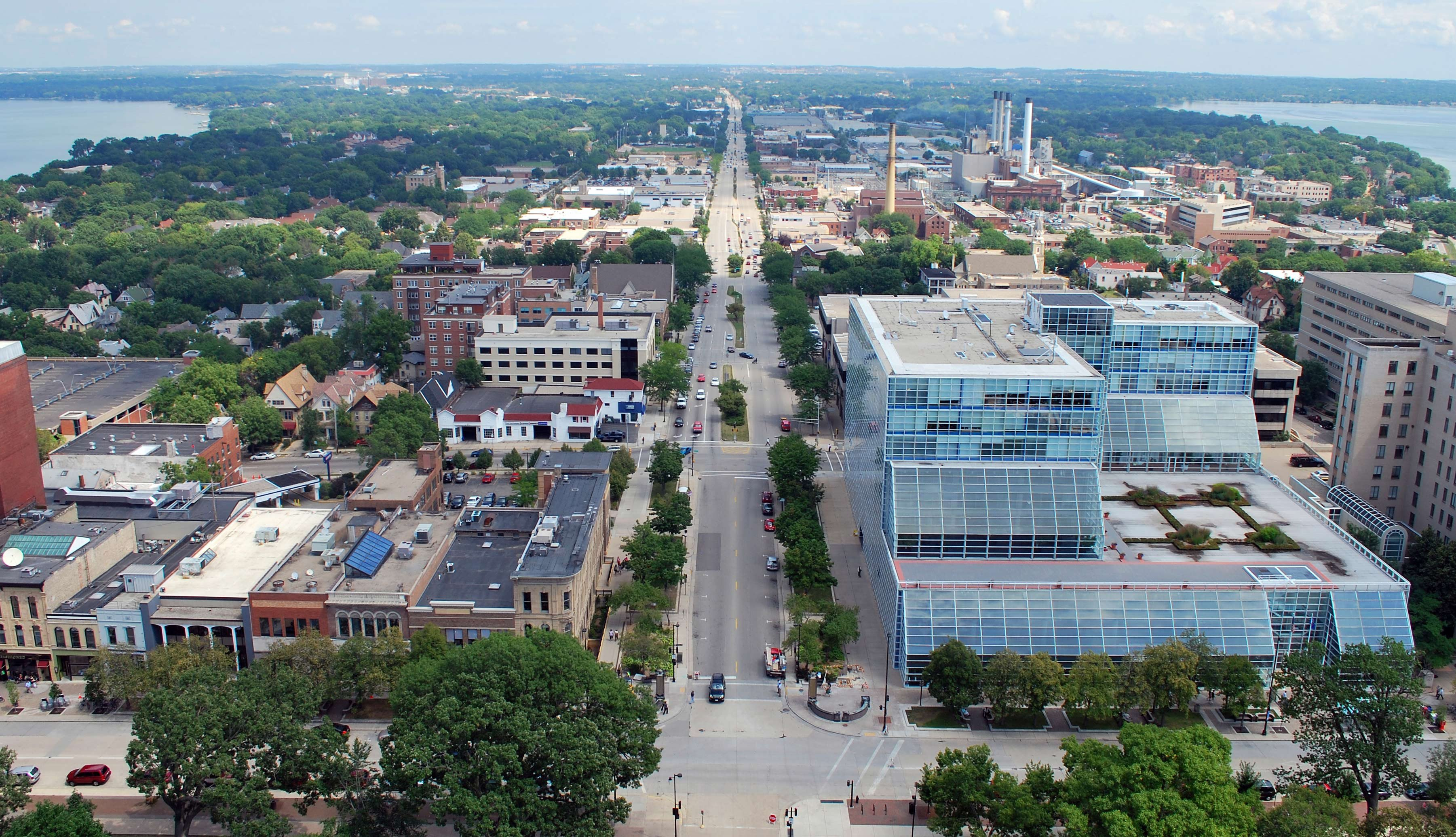 View of Madison, Wisconson, Livable Cities