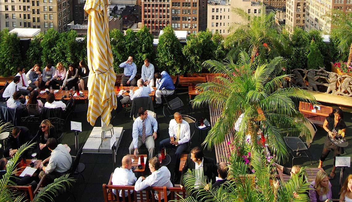 Livable Cities NYC New York Rooftop View