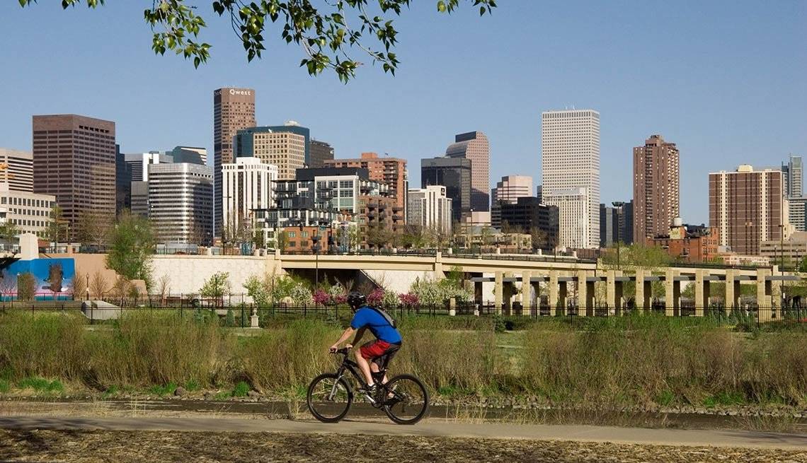 Denver, 10 Most Healthy Cities
