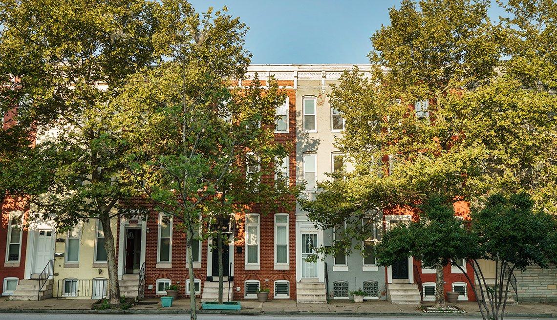 Baltimore's Sandtown neighborhood