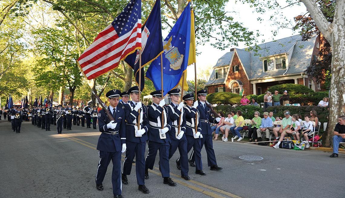 Parade in Winchester Virginia.