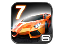 Great mobile games to play with your family: Asphalt 7: Heat