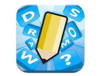 Great mobile games to play with your family: Draw Something