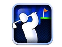 Great mobile games to play with your family: Super Stickman Golf