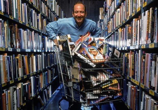 CEO y fundador de Amazon.com, Jeff Bezos.