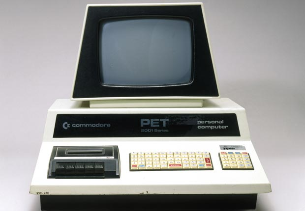 El Commodore PET (Personal Electronic Transactor) fue uno de los primeras microcomputadoras.
