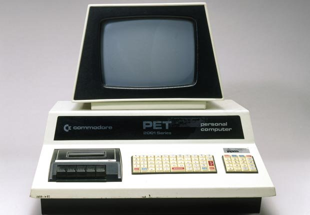 The Commodore PET (Personal Electronic Transactor) was one of the first consumer-level microcomputers to be launched.