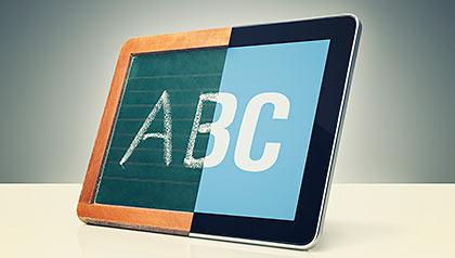 editors letter toedtman communication digital technology chalkboard tablet device ipad twitter morse code