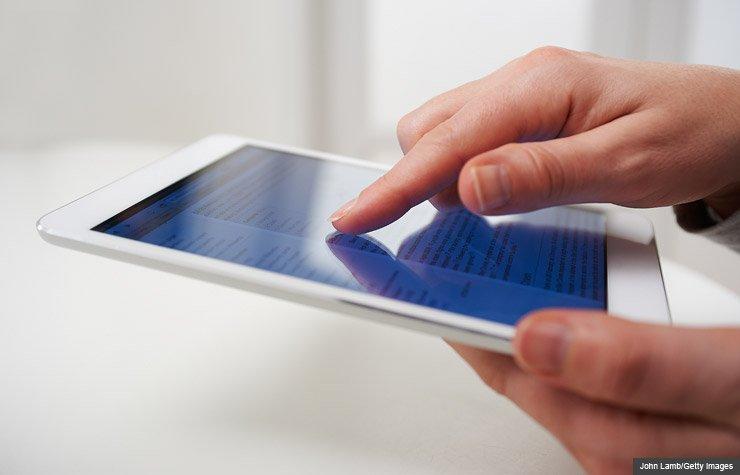 Touchscreen Tech (John Lamb/Getty Images)