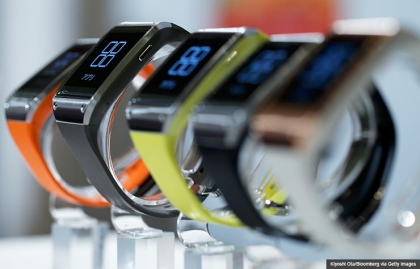 Samsung Electronics Co.'s Galaxy Gear wearable devices, Is a Smartwatch for you? (Kiyoshi Ota/Bloomberg via Getty Images)