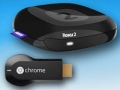 Roku 2 and Google Chromecast, Streaming devices for TV and Movies. (Roku/Google)